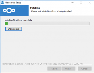How to connect Digital office file sync on Windows system